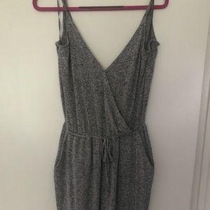 Super Soft Grey Jumpsuit